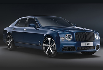Bentley Mulsanne zwaait uit met 6.75 Edition by Mulliner #1