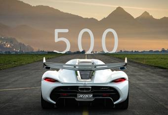 Koenigsegg Mission 500 jaagt op record Bugatti Chiron Super Sport 300+ #1