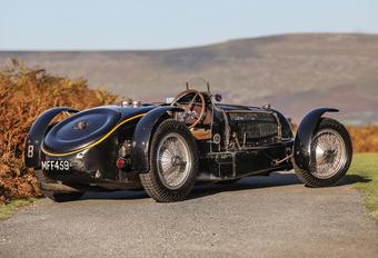 Vente record pour une Bugatti du roi Léopold III #1