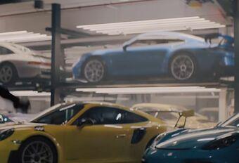Porsche 911 GT3 toont zich tijdens reclamefilmpje Superbowl #1