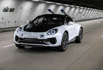 Alpine A110 Sports X: rally-dna #1