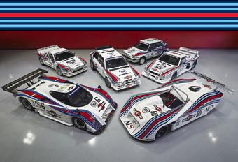 Heerlijke collectie legendarische Martini Racing Lancia's te koop #1