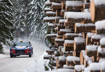 Rally van Zweden ingekort door gebrek aan sneeuw - Update #1