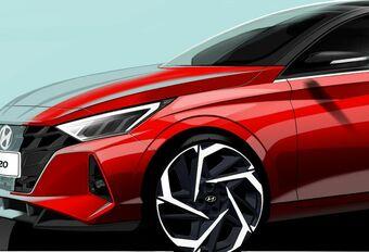 Hyundai i20 : esquisses avant Genève #1