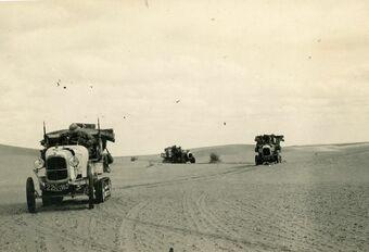 Traversée du Sahara en Citroën électriques #1