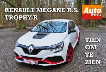 Video: Tien om te zien - Renault Mégane R.S. Trophy-R! #1