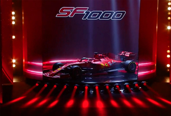 F1 2020: Ferrari SF1000 wil de scalp van Mercedes #1