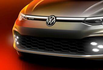Volkswagen Golf: ook als snelle GTD