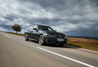 BMW M340d : break inclus #1