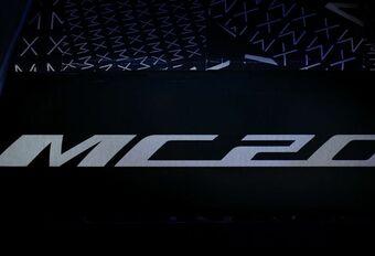 De supercar van Maserati zal MC20 heten #1