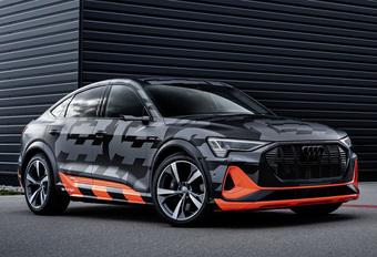 Audi maakt specs elektrische E-Tron Sportback S bekend #1