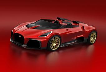 De geheime projecten van Bugatti: Veyron Barchetta #1