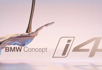 Teaser vidéo - BMW Concept i4 à Genève #1