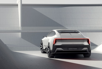 Polestar Precept: high-tech en duurzame concept #1