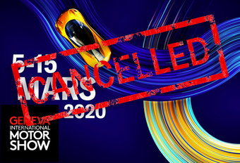 Breaking - Autosalon Genève 2020 afgelast! #1
