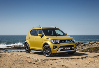 Suzuki Ignis : nouveau look et moteurs plus sobres #1