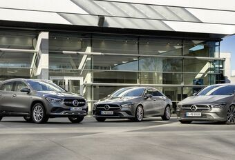 Mercedes met l'EQ Power aux CLA et GLA #1
