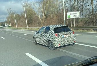 La future Toyota Aygo aperçue à Crisnée #1