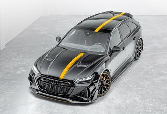 Mansory verrast met  Audi RS6 Avant #1