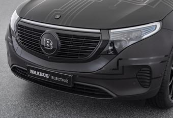 Wat doet Brabus met de elektrische Mercedes EQC? #1