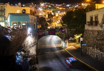 Rally Mexico toch van start, Neuville aan de leiding #1