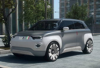 Centoventi wordt elektrische Fiat Panda #1