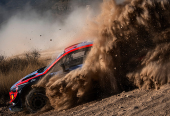 Mechanisch probleem stopt Thierry Neuville in Rally Mexico #1