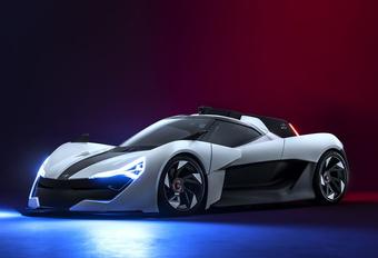 Apex AP-0 is sport-EV met holografische race-instructeur #1