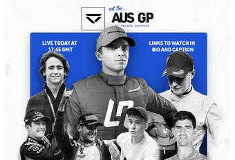 Norris, Vandoorne en Courtois racen virtuele GP Australië #1