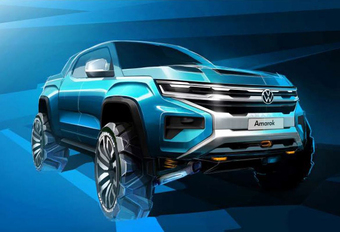 Nieuwe VW Amarok wordt tweelingbroer Ford Ranger #1