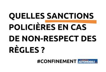 Confinement : quelles sanctions policières ? #1