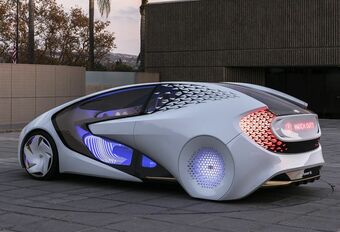 Voiture autonome : collaboration Toyota Momenta #1