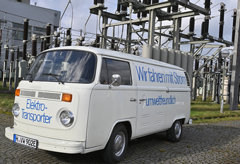 Le saviez-vous ? Volkswagen a construit des camionnettes électriques il y a 42 ans. #1