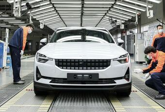 Productie van de Polestar 2 in China opgestart #1
