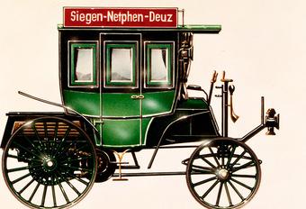 Wist je nog? Mercedes vond 125 jaar geleden de autobus uit #1