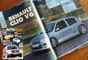 Wat vond (De) AutoGids in 2000 van de Renault Clio V6? #1