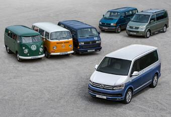 70 jaar Volkswagen Transporter in 7 T's #1