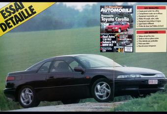 Que pensait Le Moniteur Automobile de la Subaru SVX en 1992? #1