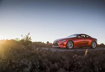 Lexus LC : mise à jour pour un comportement affiné #1