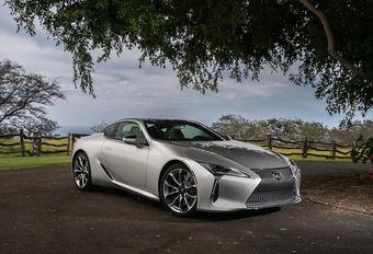 Update maakt Lexus LC dynamischer #1