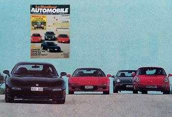 Que pensait Le Moniteur de la NSX vs RX-7 vs 911 Carrera 2 & 968? #1