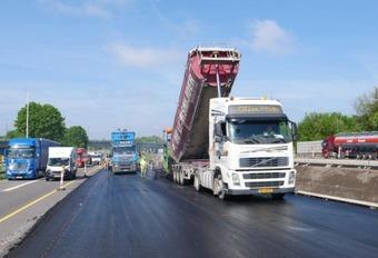 Les chantiers ont repris sur les routes wallonnes #1