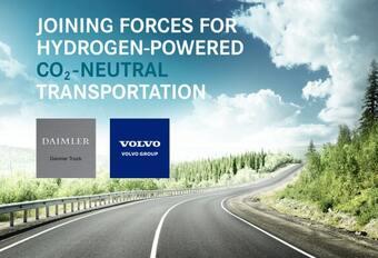 Volvo et Daimler (Mercedes) ensemble dans l'hydrogène #1