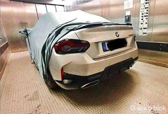 Gelekt: nieuwe BMW 2 Reeks Coupé met RWD #1