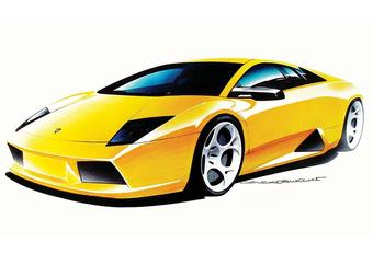 Eregalerij: Lamborghini Murciélago #1