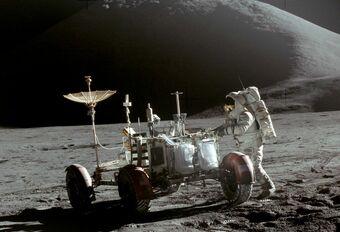 Wist je nog? Dat er een auto op de maan gereden heeft... #1