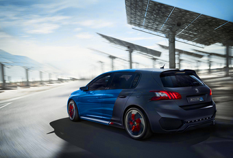 Peugeot 308 PSE wordt hybride hot hatch #1