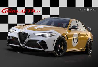 Alfa Romeo Giulia GTA krijgt historische kleuren #1