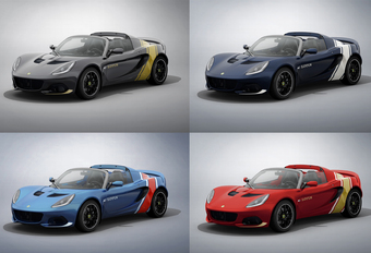 Welke klassieke racekleuren zou jij nemen op je Lotus Elise? #1