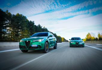 Alfa Romeo Giulia en Stelvio Quadrifoglio ook gefacelift #1